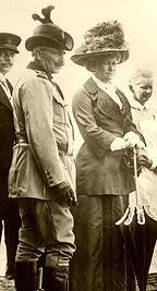 Wilhelm II und Kaiserin Victoria Augusta