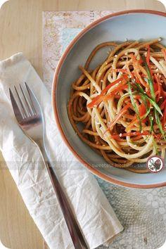 Cold Chobani-Sesame Noodles