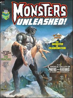 Monsters Unleashed #2 by Boris Vallejo