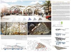 [A3N] : Sustainable Market Square Competition Winner ( Casablanca) / ( Honorable Mention 07 )Jonas Aarsø Larsen, Alexandra Nikolova (Country: China)