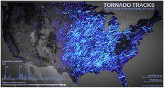 Tornado map.