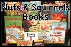 When teaching about fall changes, one theme to keep your little learners intrigued and interested is nuts and squirrels. We usually teach this topic after
