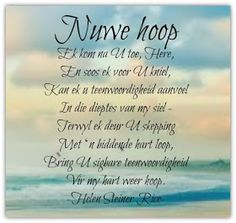 Inspirational Quotes About Success, Inspirational Thoughts, Christian Messages, Christian Quotes, Faith Quotes, Bible Quotes, Helen Steiner Rice Poems, My Redeemer Lives, Afrikaanse Quotes