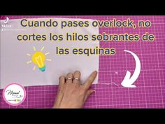 #34 PULIR PUNTADAS DE OVERLOCK/ TIPS MUY FÁCIL 🤗✨ - YouTube Youtube, Ideas, Singer Sewing Machines, Sewing Techniques, Pattern Cutting, Stitching, Hacks, Sleeves, Thoughts
