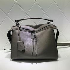 Full Grain Leather Women Fashion Handbag Shoulder Bag Messenger Bag Leather Bag AM04