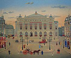 Michel Delacroix, Place de l'Opera