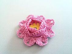 Crochet flower 28 - YouTube