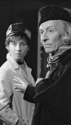 ❦ Fifty years ago today, on 20 September 1963, the first photographs of Doctor Who were taken… The shoot took place in London at BBC Television Centre and the event was significant for another reason: It was the first time the four stars of Doctor Who's first season had ever met! Carole Ann Ford and William Hartnell played Susan and her grandfather, the Doctor.