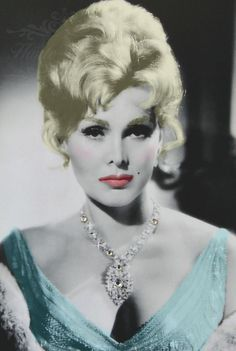 Zsa Zsa Gabor http://www.whaleoil.co.nz/2016/02/photo-of-the-day-678/