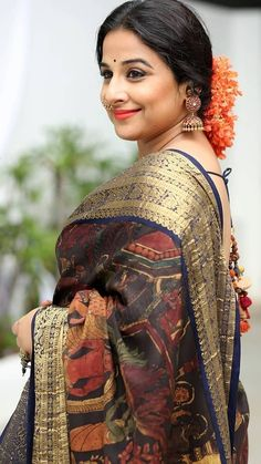 Bollywood or Hindi cinema is the largest film industry in the world with popular Bollywood actresses such as Deepika Padukone, Jacqueline Fernandez Indian Celebrities, Bollywood Celebrities, Bollywood Actress, Bollywood Sarees Online, Bollywood Fashion, Bollywood Stars, Nayanthara In Saree, Indian Beauty Saree, Indian Sarees