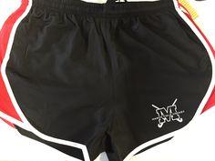 Printed logo on shorts for varsity masco field hockey 9/16