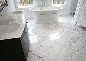 Marble Bathroom Tile by Installations Plus Inc of Holliston MA