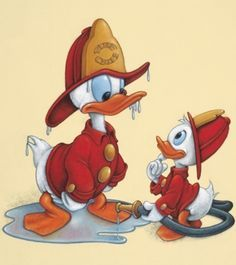 Donald duck full episodes new 2015 Episodes Utimate Classic Collection Cartoon HD it's has Donald Duck, Chip and Dale, Mickey Mouse and Pluto! This version is taken from the mickey mouse and friends cartoon, donald duck and pluto & chip and dale, etc . Walt Disney Cartoons, Walt Disney Characters, Disney Duck, Disney Love, Disney Art, Disney Mickey, Firefighter Paramedic, Volunteer Firefighter, Firefighter Clipart