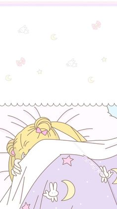 Me when I don't wanna get out of bed lol. Sailor Moon Crystal, Sailor Moon Fond, Arte Sailor Moon, Sailor Moon Manga, Soft Wallpaper, Cute Anime Wallpaper, Cute Cartoon Wallpapers, Animes Wallpapers, Sailor Moon Aesthetic