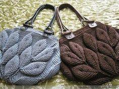 Greysi Crochet: Cartera Crochet
