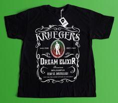 Freddy Krueger Clothing   A Nightmare on Elm St   Horror Movie Shirt   Halloween Shirt   Mens Tee  