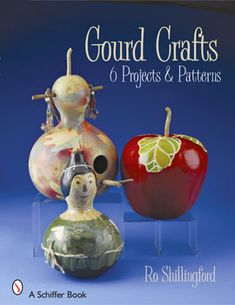 Painting Christmas Gourds   Cockeyed Moon Designs   Hand Painted Furniture   Gourd Art
