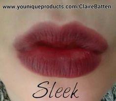 Stiff Upper Lip Lip Stain in Sleek #lipstain #gorgeouslips #lush #fullerlips #younique #cosmetics