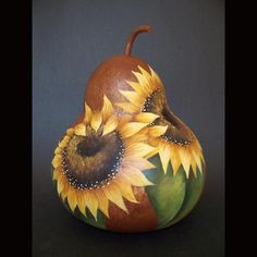 Welcome to Poplar Hollow Studio, where unique, handpainted & mixed media folk art is created with gourds. Stencil Painting, Tole Painting, Painting Patterns, Hand Painted Gourds, Pyrography Patterns, Gourds Birdhouse, Gourd Art, Pansies, Rock Art
