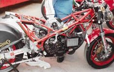 Ducati Cafe Racer, Mopeds, Road Bikes, F1, Motorcycles, Frames, Racing, Ideas, Cool Bikes