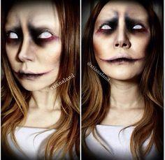 Instagram Halloween makeup scary