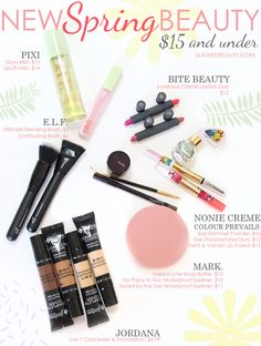 New Spring Beauty: $15 and Under   Slashed Beauty