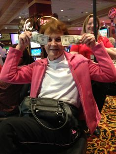 Woo Hoo! #50s #cash #casino #fun