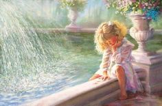 Three wishes - Kathy A. Finchers (1949) American child artist