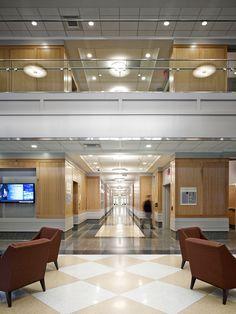 ESI Interior Design The College Of New Jersey School Business Cooridor Waiting Room Hallway
