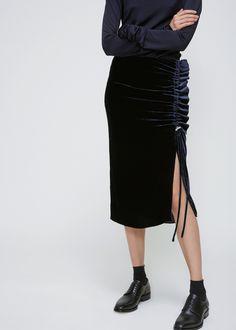 Urban Classics Ladies Oversized Velvet Crew Damen Nikki Samt Pullover