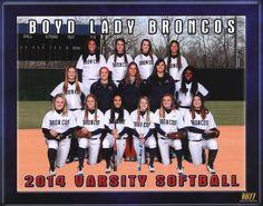 2013-2014 MBHS Varsity Softball Team
