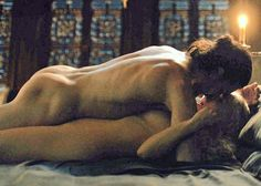 Jon Snow (Aegon Targaryen) with Daenerys Targaryen (Khalessi)