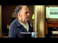 Amor, de Michael Haneke, com Jean-Louis Trintignant e Emanuelle Riva - visto na TV em 28.02.2016, com Alda