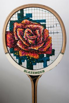 Embroidered Racket