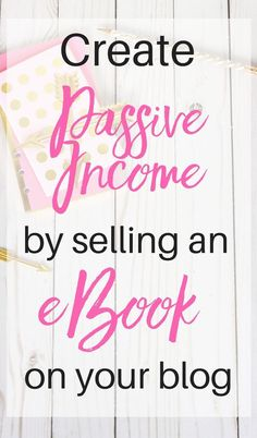 Ready to monetize your blog?  There is no better way to get started than by creating and selling your own eBook.  eBooks are low-cost and low-tech to create, but can provide a passive income stream for your blog for years to come!  Check out my free email course all about creating and selling an eBook on your blog at http://www.mybookbiz.com