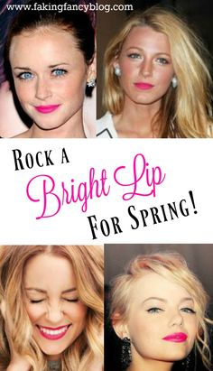 Brighten up your spring makeup routine with a pretty bright lip! All of these gorgeous pink and red lipsticks are under $10