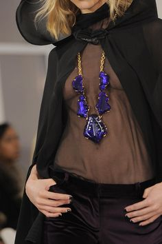 Accessories: Oscar de la Renta Fall 2013