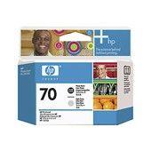 HP CABEZAL INYECCION TINTA Nº 70 NEGRO/GRIS CLARO