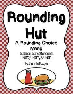 The Rounding Hut: Project Based Learning Types Of Angles, 4th Grade Math, Project Based Learning, Rounding, Menu Design, Math Lessons, Choices, Classroom, Teaching