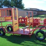 Outdoor Artificial Grass for Playgrounds