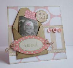 Because it's fun to create...: Babykaart