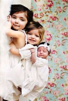 ❸ Three sisters Toni Kami ~•❤• Bébé •❤•~ Precious child Fresh From God photography idea