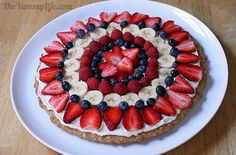 Home Channel TV Blog: Fantastic Fruit Pizza Recipes
