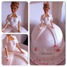 First holy Communion doll cake! https://www.facebook.com/pages/Caketastic/163765000425745?ref=hl