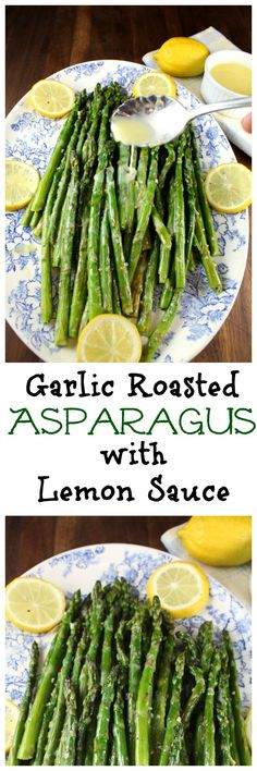 Garlicky Asparagus With A Splash Of Lemon Recipe — Dishmaps