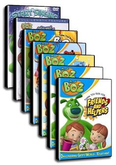 Boz: The Green Bear Next Door - The Series - Christian Movie/Film on DVD. http://www.christianfilmdatabase.com/review/boz-the-green-bear-next-door-series/