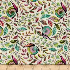 Tula Pink Slow & Steady Pit Crew Strawberry from @fabricdotcom  Designed by Tula Pink for Free Spirit Fabrics, this cotton print collection features Tula's signature bright, bold, and saturated colorways with whimsical prints. Perfect for quilting, apparel, and home decor accents. Colors include cream, shades of green, purple, peach, grey, and pink.