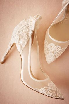 lacy white shoes