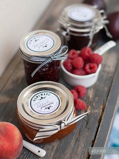 Printable French Country Jam Jar Lables.... http://www.ellinee.com/blog/printable-french-country-jam-jar-lables/