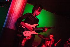 Jolly Rox live at No Cage Club on 16/11/2016, opening act for Stop Stop, photos by Tiziana Cini